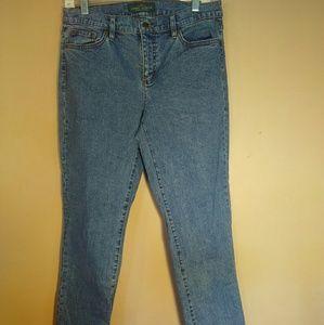 Lauren Ralph Lauren 8 Slim Fit Jeans